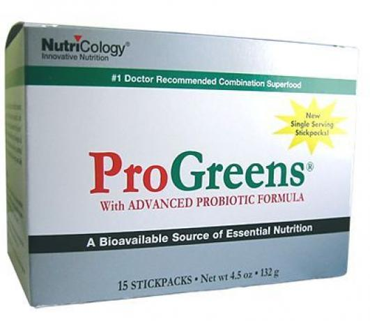 Allergy Research ProGreens Stick packs 15 servings