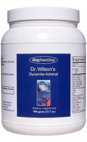 Allergy Research Dr. Wilsons Dynamite Adrenal 900gms
