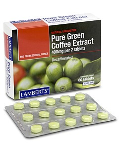 Lamberts Green Coffee Extract 60 tabs