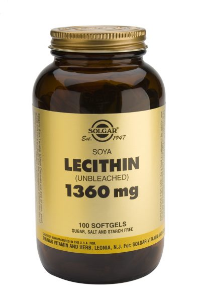 Soya Lecithin 1360 mg 100 Softgels