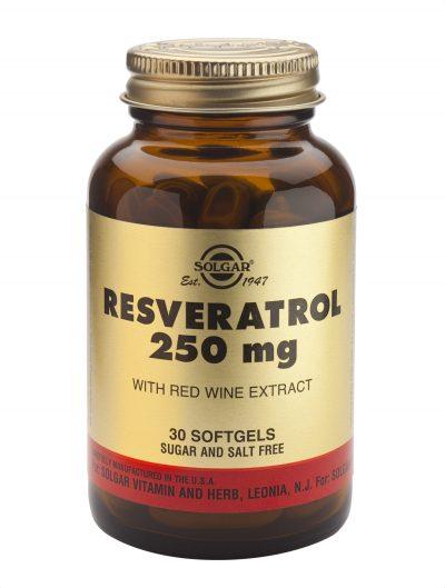 Resveratrol 250 mg 30 Softgels