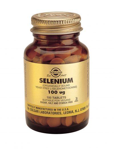 Selenium 100 mcg 100 Tablets (Yeast-Free)
