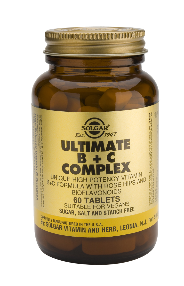 Ultimate B+C Complex60 Tablets