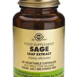 Sage Leaf Extract 60 Vegetable Capsules