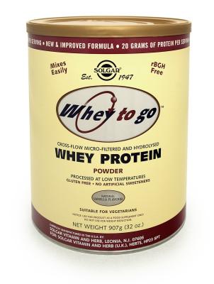 Whey To Go(R) Whey Protein Powder Natural Vanilla Flavour