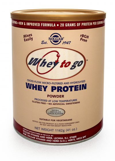 Whey To Go(R) Whey Protein Powder Natural Chocolate Flavour