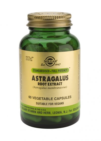 Astragalus Root Extract 60 Vegetable Capsules