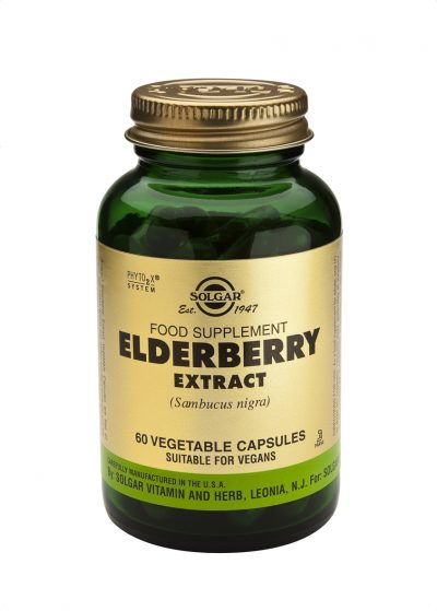 Elderberry Extract 60 Vegetable Capsules