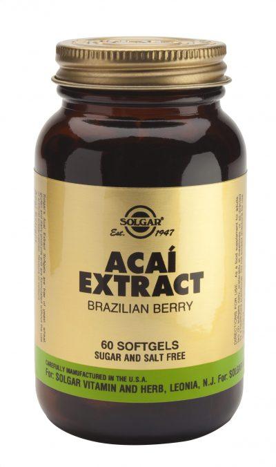 Acai Extract 60 Softgels