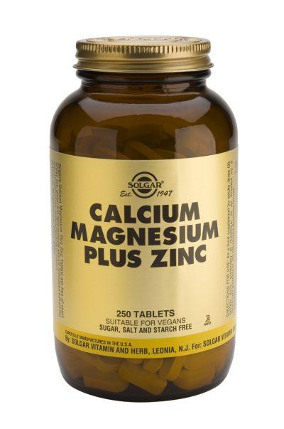 Calcium Magnesium Plus Zinc 250 Tablets