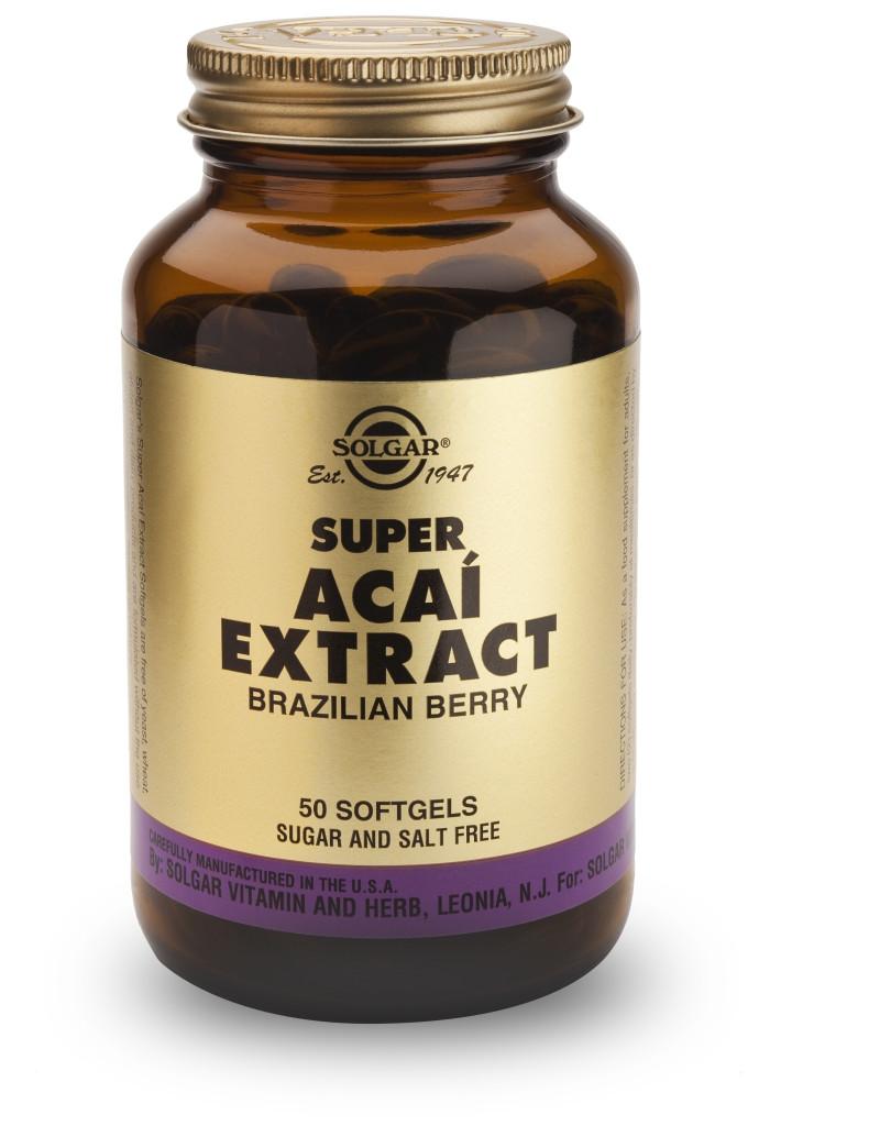Super Acai Extract 30 Softgels