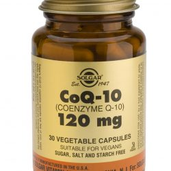 Coenzyme Q-10 120 mg Vegetable Capsules