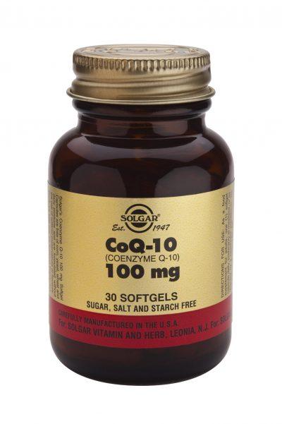 Coenzyme Q-10 100 mg Softgels