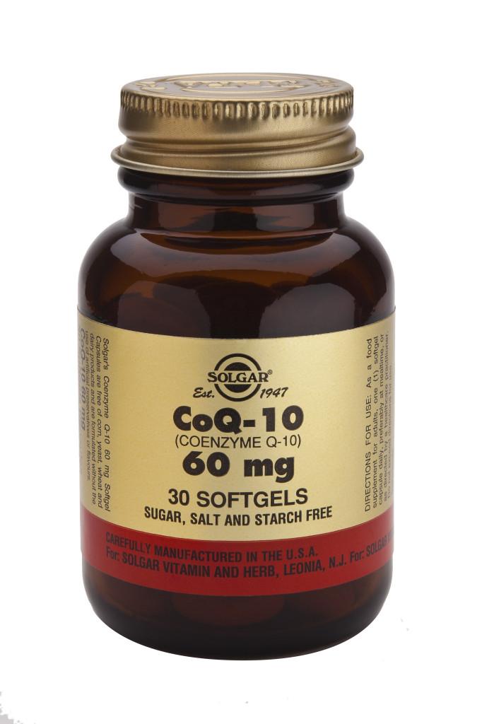 Coenzyme Q-10 60 mg Softgels