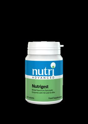Nutri NutriGest Digestive Enzymes 90 tabs