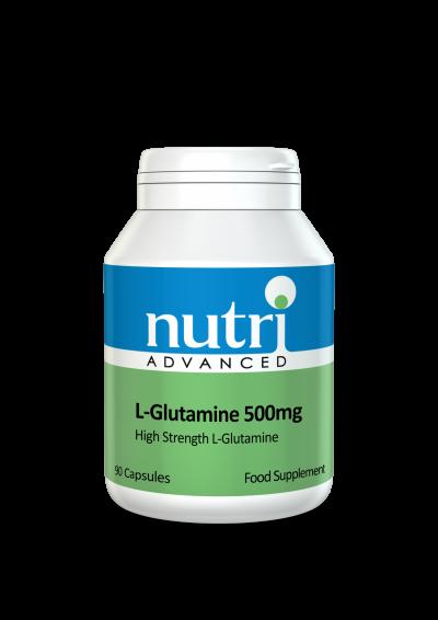 Nutri L-Glutamine 500mg 90 caps