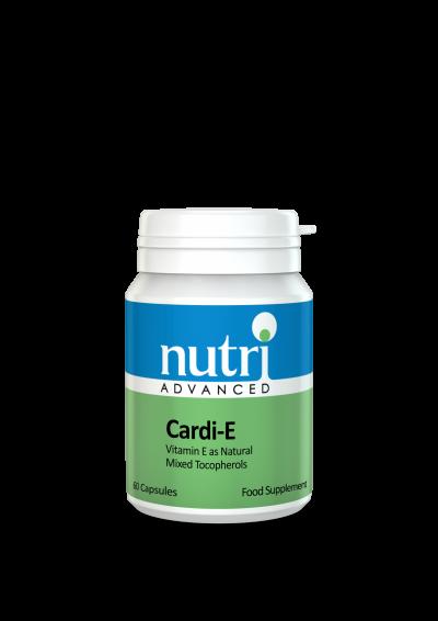 Nutri Cardi E LIQUID Vitamin E 60 caps