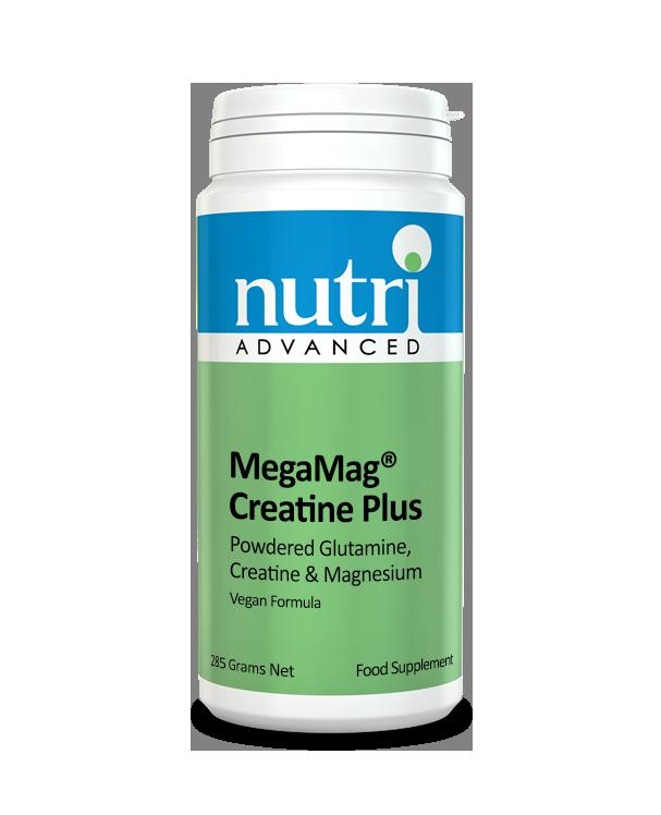 Nutri MegaMag  Creatine Plus Powder (Orange Flavour - 285g, 30 servings)