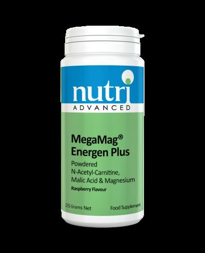 Nutri MegaMag Energen Plus Powder (Raspberry Flavour - 225g, 30 servings)