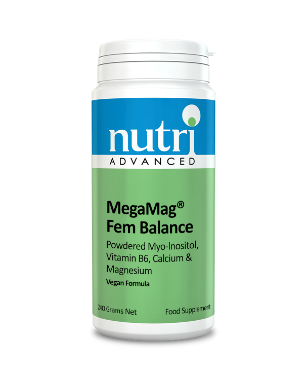 Nutri MegaMag  Fem Balance Powder (Orange Flavour - 240g, 30 servings)