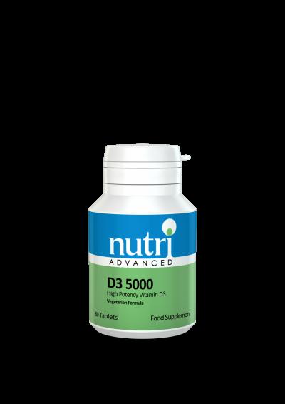 Nutri D3 Drops  5000 60 tabs