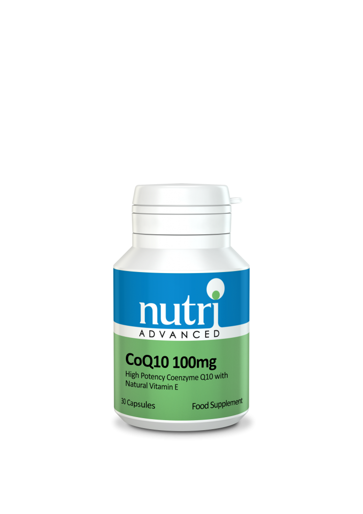 Nutri CoQ10 100mg 30 caps