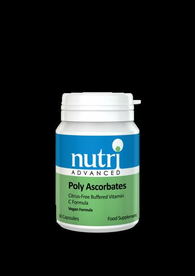 Nutri Poly Ascorbates 60 caps