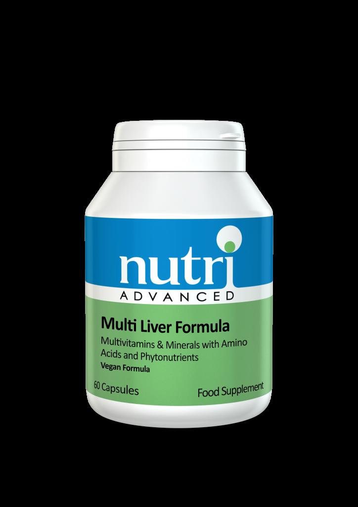Nutri Multi Liver Formula (Detox Support) 60 caps