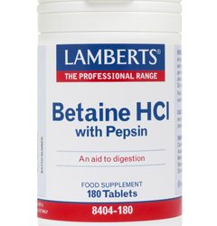 Lamberts Betaine Hcl and Pepsin 180 tabs