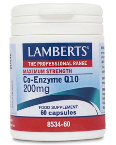 Lamberts Co Enzyme Q10 200mg 60 caps