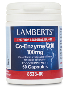Lamberts Co Enzyme Q10 100mg 60 caps