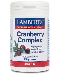 Lamberts Cranberry Complex with FOS 100g powder