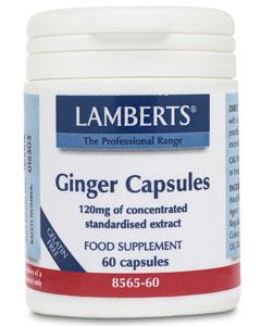 Lamberts Ginger Capsules 12000mg 30 caps