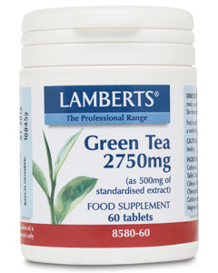Lamberts Green Tea Extract 2750mg 60 tabs