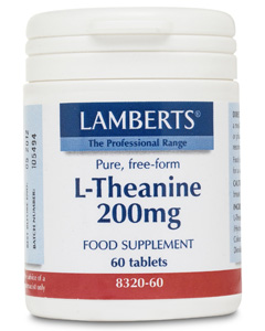 Lamberts NEW L-Theanine 100mg 60 tabs
