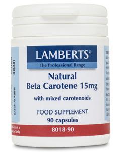 Lamberts Natural Beta Carotene 15mg 90 caps