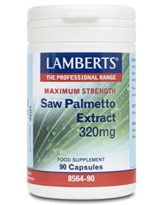 Lamberts Saw Palmetto Extract 320mg 90 caps
