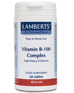 Lamberts Vitamin B100 Complex 60 tabs