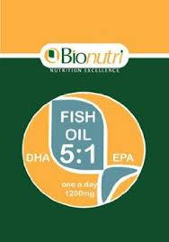Bionutri Fish Oil DHA 5:1 EPA 45 caps