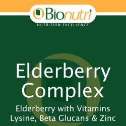 Bionutri Elderberry Complex 30 tabs