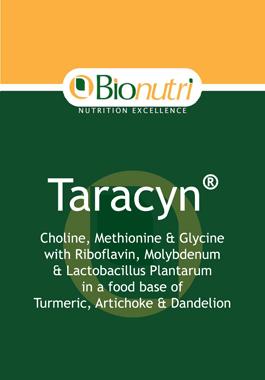 Bionutri Taracyn (Liver/Gall Bladder Support) 30 caps