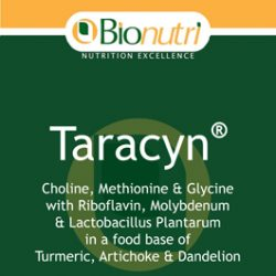 Bionutri Taracyn (Liver/Gall Bladder Support) 60 caps