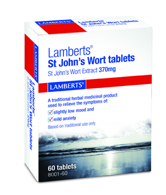 Lamberts St. John's Wort 370 mg 60 tablets