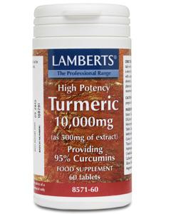 Lamberts Turmeric 10,000mg 60 tabs