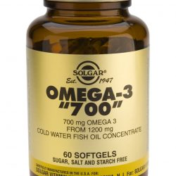 Omega-3 Double Strength Softgels 120 caps