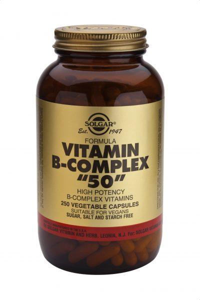 "Vitamin B-Complex ""50"" 250 veg caps"