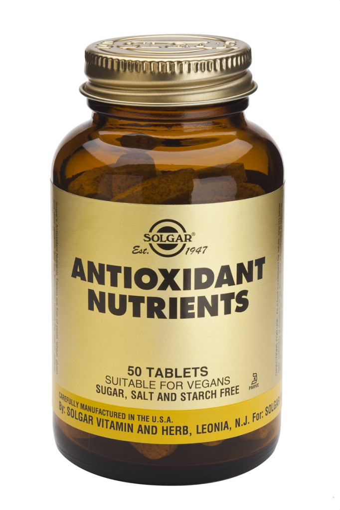 Antioxidant Nutrients Tablets 50 tablets