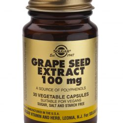 Grape Seed Extract 100 mg 30 Vegetable Capsules
