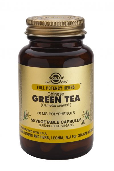Chinese Green Tea 50 Vegetable Capsules