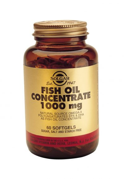 Fish Oil Concentrate 1000 mg 60 Softgels